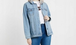 SIMPY BE kurtka JEANS denim r 50/52